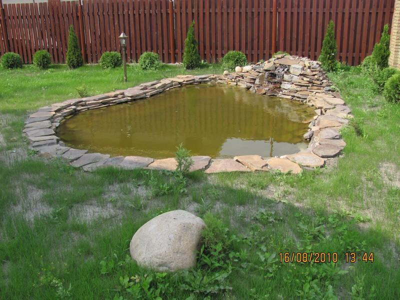 Садовый водоем