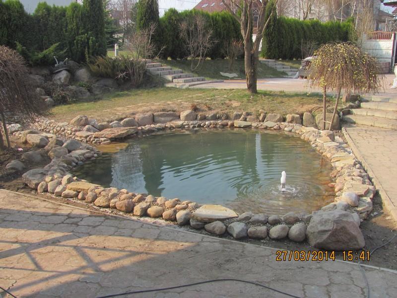 Декоративный водоем, пруд искусственный