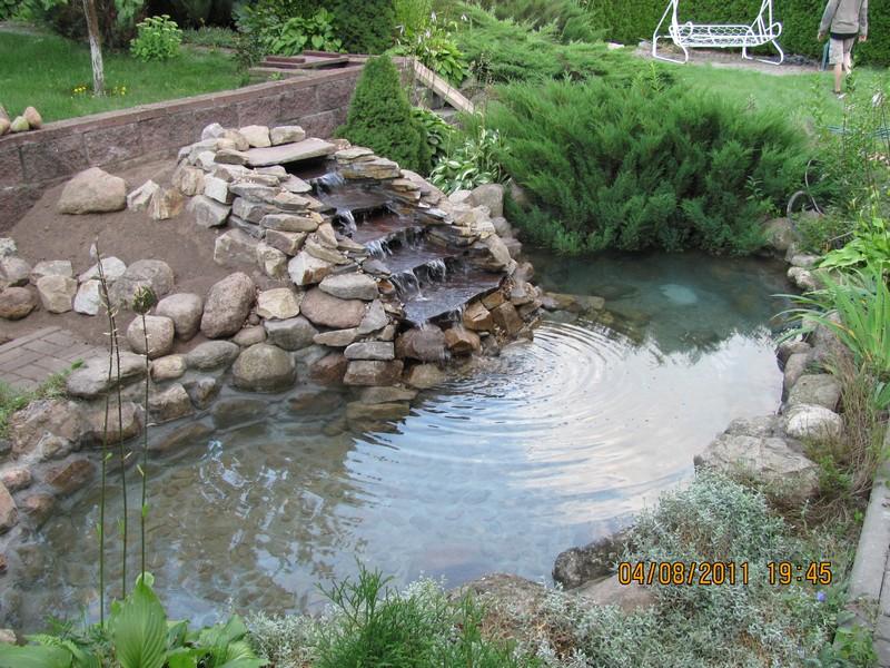 Мини-водоем декоративный