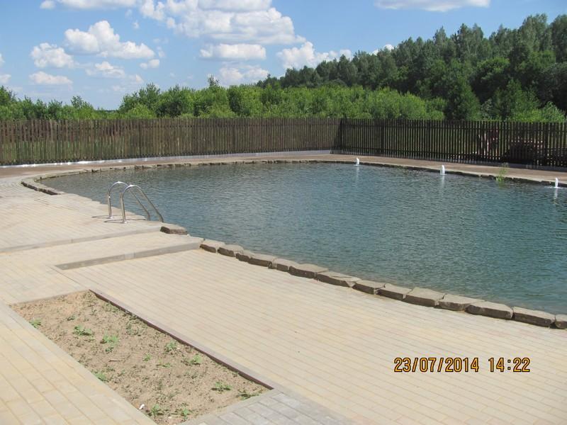 Купальный пруд для плавания