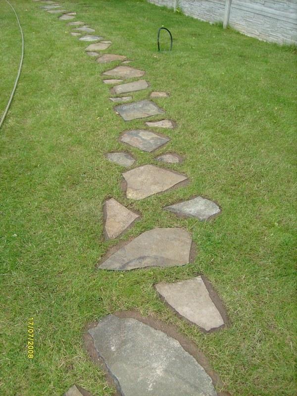Камень для пошаговых дорожек