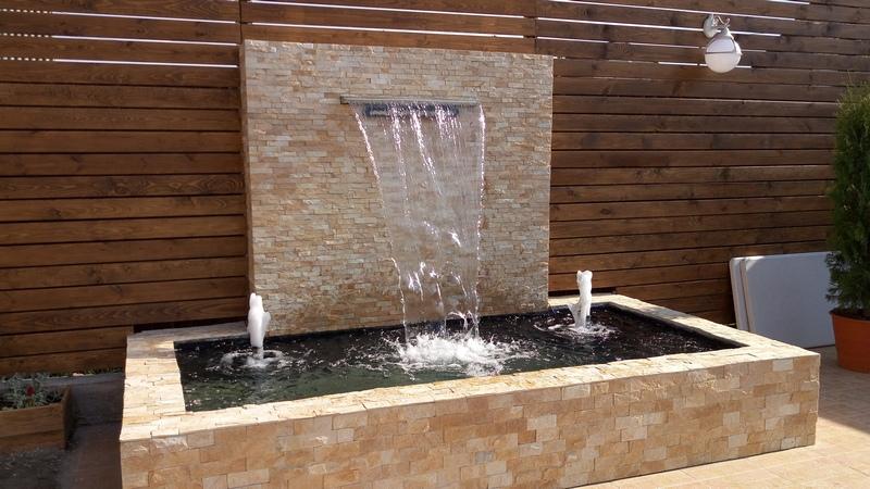 Водопады интерьерные